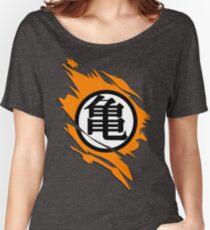 Logo Goku Dragon Ball Women's Relaxed Fit T-Shirt