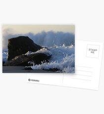 """""""carved"""" Postcards"""