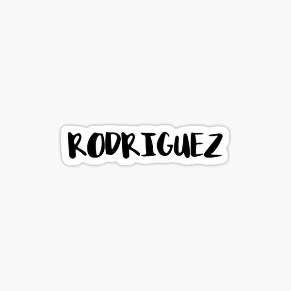 Rodriguez Sticker