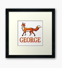 George Fox Framed Print