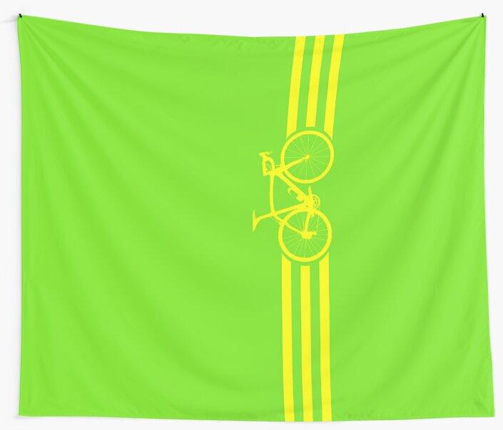 Bike Stripes Yellow by sher00
