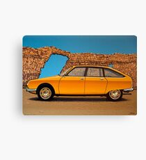 Citroen GS 1970 Painting Canvas Print
