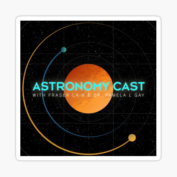 Astronomy Cast Version 2 Sticker
