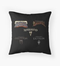 Throughout the Years Throw Pillow