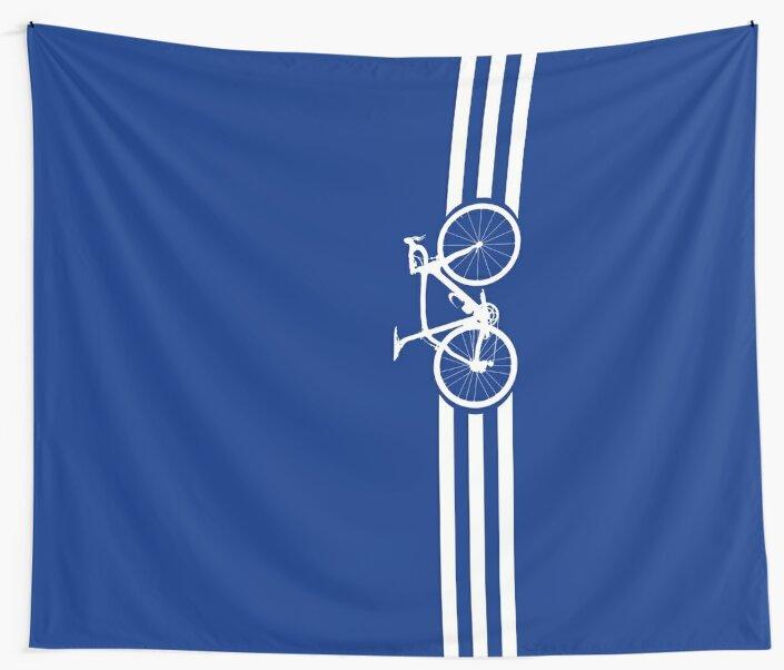 Bike Stripes White x 3 by sher00