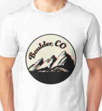 boulder flatirons seal Unisex T-Shirt