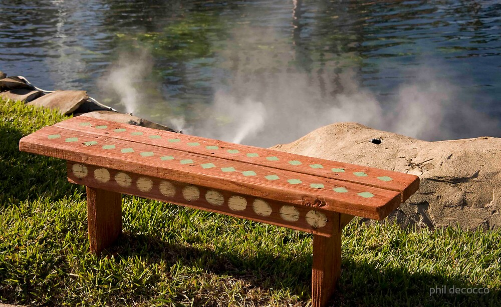 Jet Cooled Bench by phil decocco