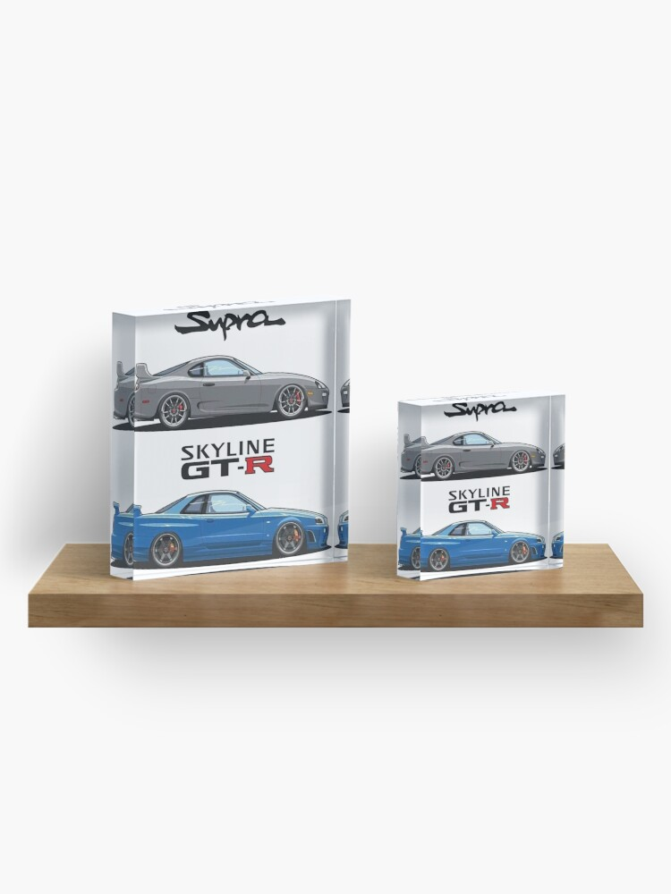 Alternative Ansicht von JDM - War Machines (GTR R34 & Supra) Acrylblock