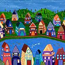 Tiny Houses by the River by Lisafrancesjudd