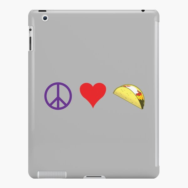 Peace, Love & Tacos iPad Snap Case