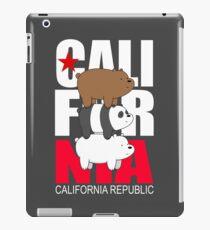 California - We Bare Bears iPad Case/Skin