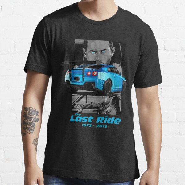 The Last Ride - Paul Walker - GT-R Essential T-Shirt