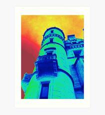 Dunrobin Tower Art Print