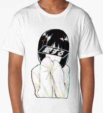 LOVE(Japanese) - Sad Japanese Aesthetic Long T-Shirt