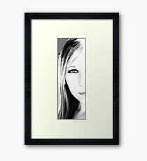 My Narrow Self Framed Print
