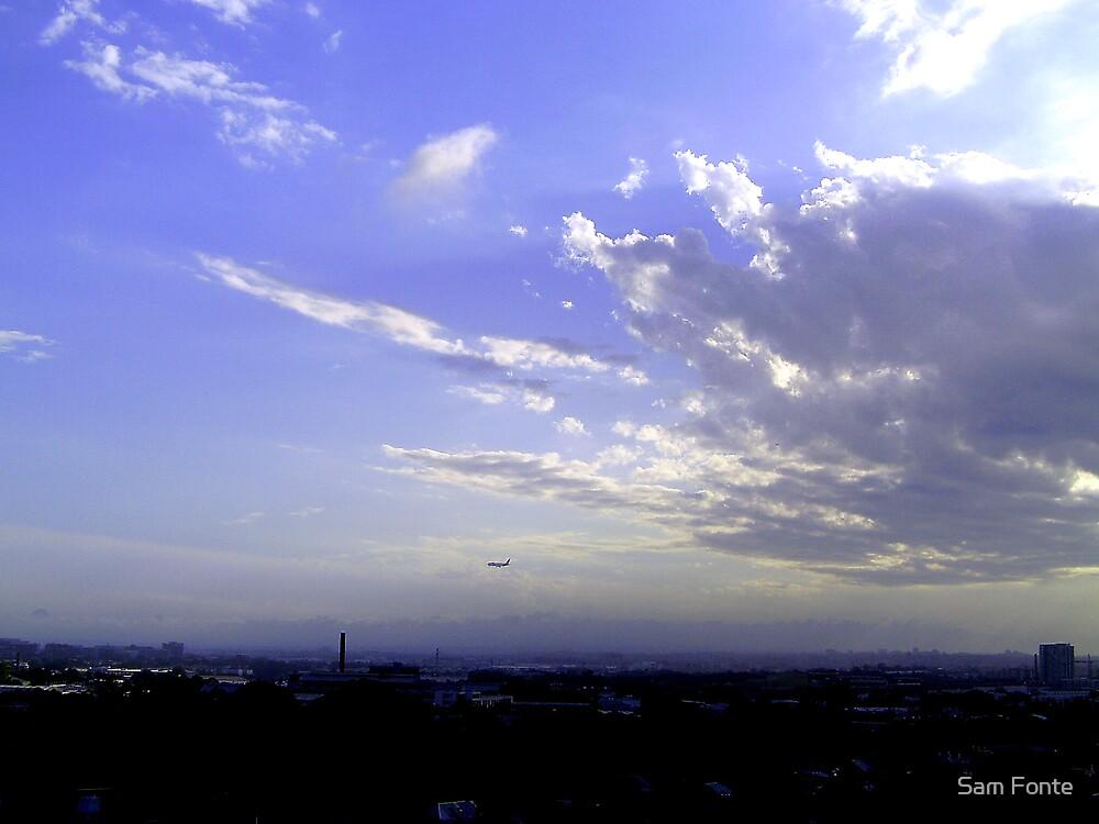 dusk clouds # 5 by Sam Fonte