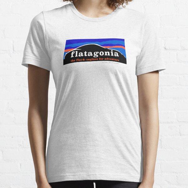 Flatagonia - Flat 6 Engine Adventure Essential T-Shirt