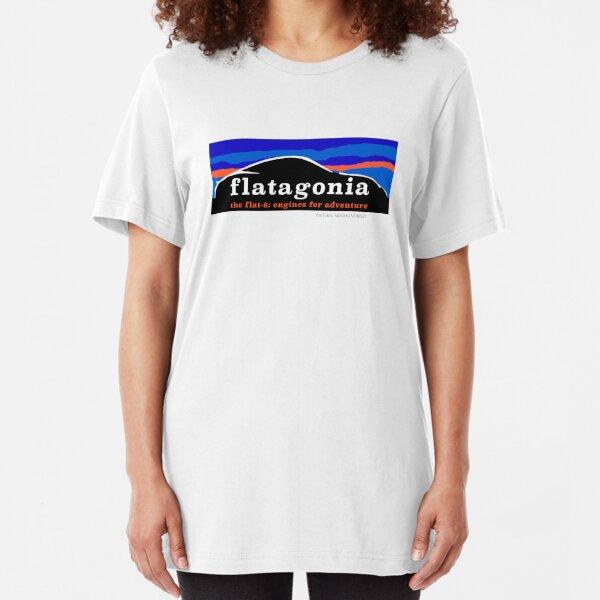 Flatagonia - Flat 6 Engine Adventure Slim Fit T-Shirt