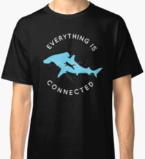 Everything is Connected Shirt Cat Shark Classic T-Shirt
