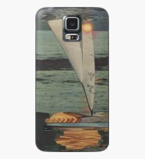 Sun Set Sail Case/Skin for Samsung Galaxy