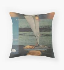 Sun Set Sail Throw Pillow