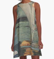 Sun Set Sail A-Line Dress
