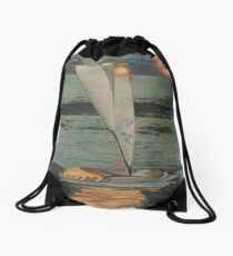 Sun Set Sail Drawstring Bag