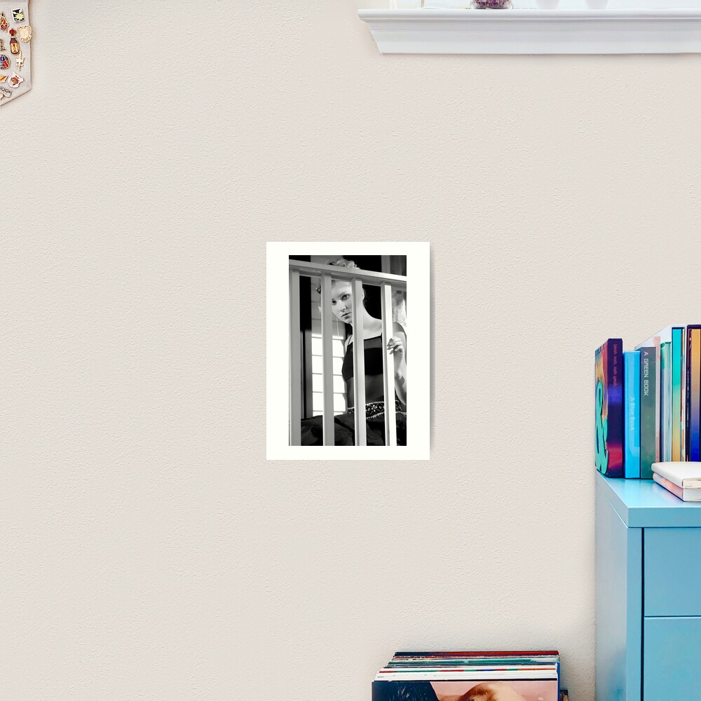 Watching Art Print