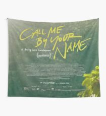 Call Me By Your Name Movie Poster Wall Tapestry
