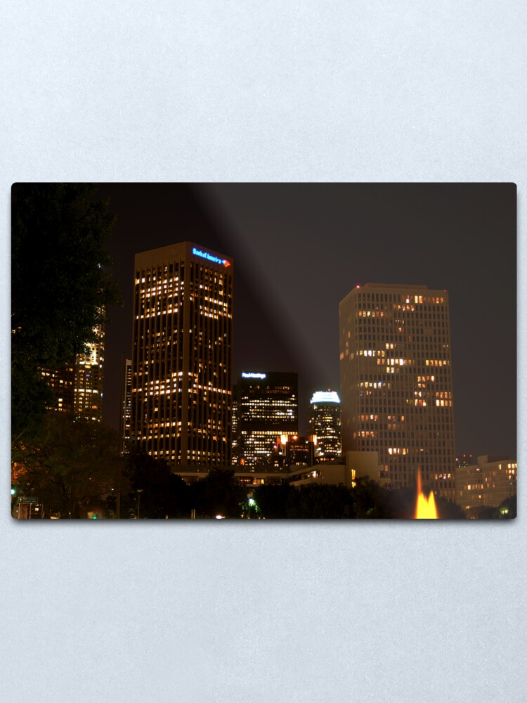 Alternate view of Downtown Los Angeles At Night HDR Metal Print