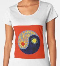 Yin Yang Symbol Women's Premium T-Shirt