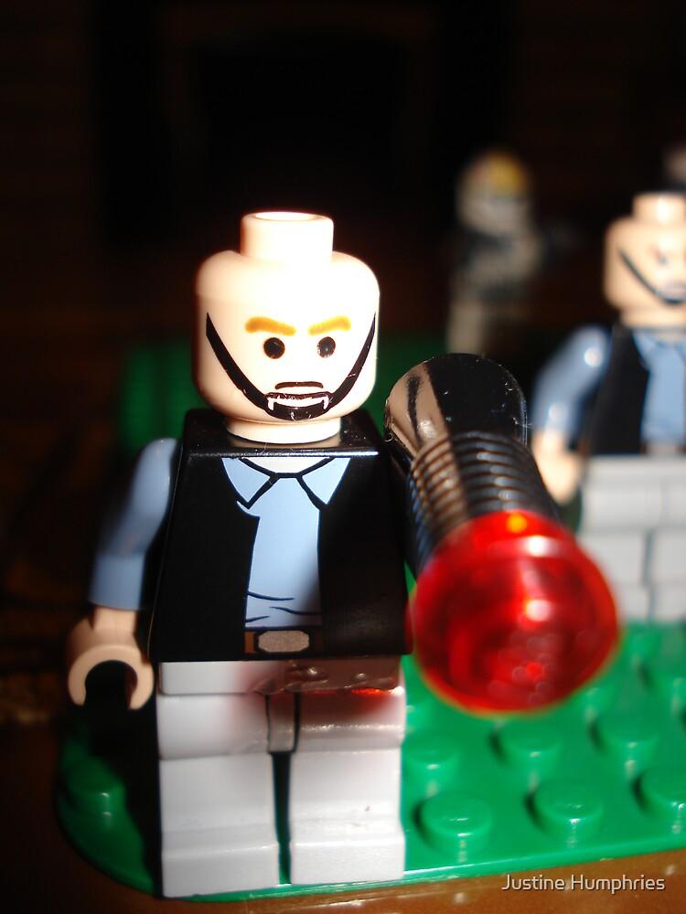 """Lego """"v"""" Star Wars by Justine Humphries"""