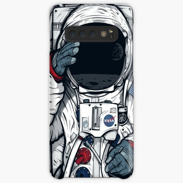 Apollo Lunar Mission Astronaut Illustration (SPACE YO) Samsung Galaxy Snap Case