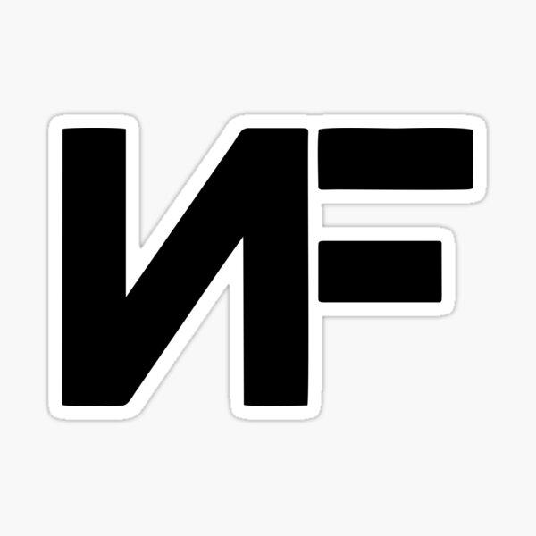 NF Rapper Sticker