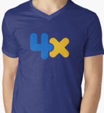 4x Men's V-Neck T-Shirt