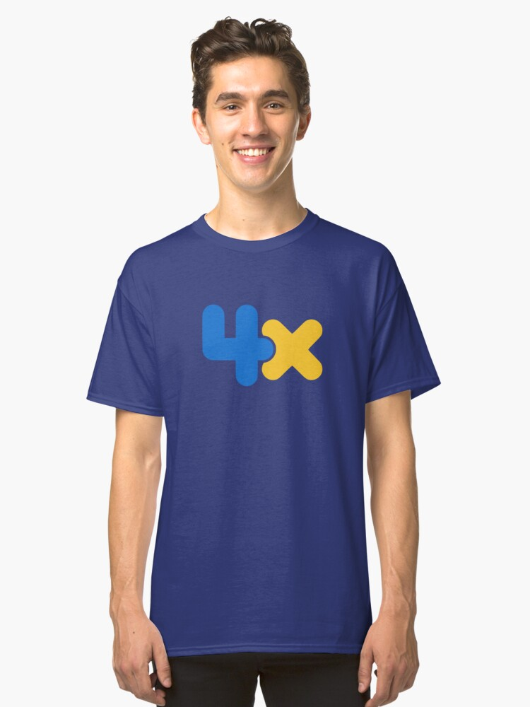 4x Classic T-Shirt Front