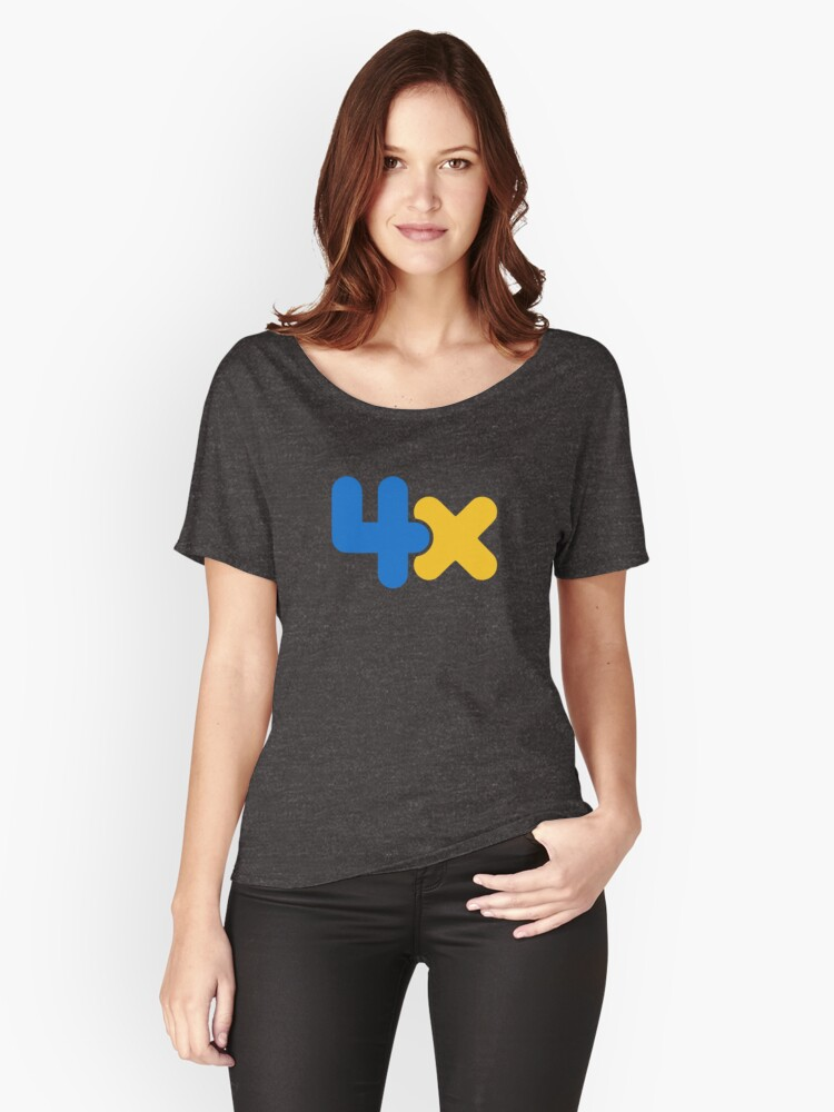 4x Women's Relaxed Fit T-Shirt Front