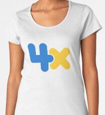 4x Women's Premium T-Shirt