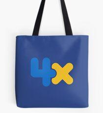 4x Tote Bag