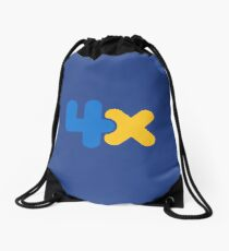 4x Drawstring Bag