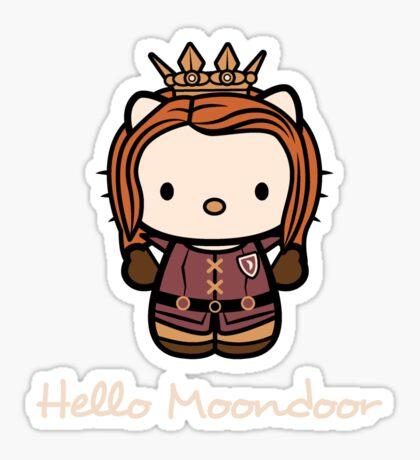 Queen of Moondoor Sticker