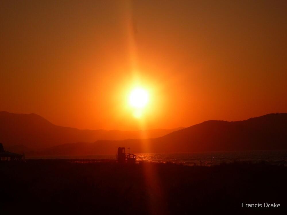 Solar Flare by Francis Drake