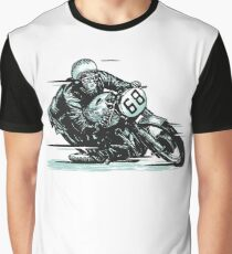 wonderful vector vintage motorcycle Graphic T-Shirt