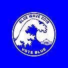 Blue Wave 2018 Vote Blue by EthosWear
