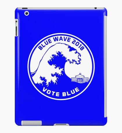 Blue Wave 2018 Vote Blue iPad Case/Skin