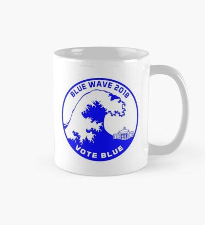 Blue Wave 2018 Vote Blue Mug