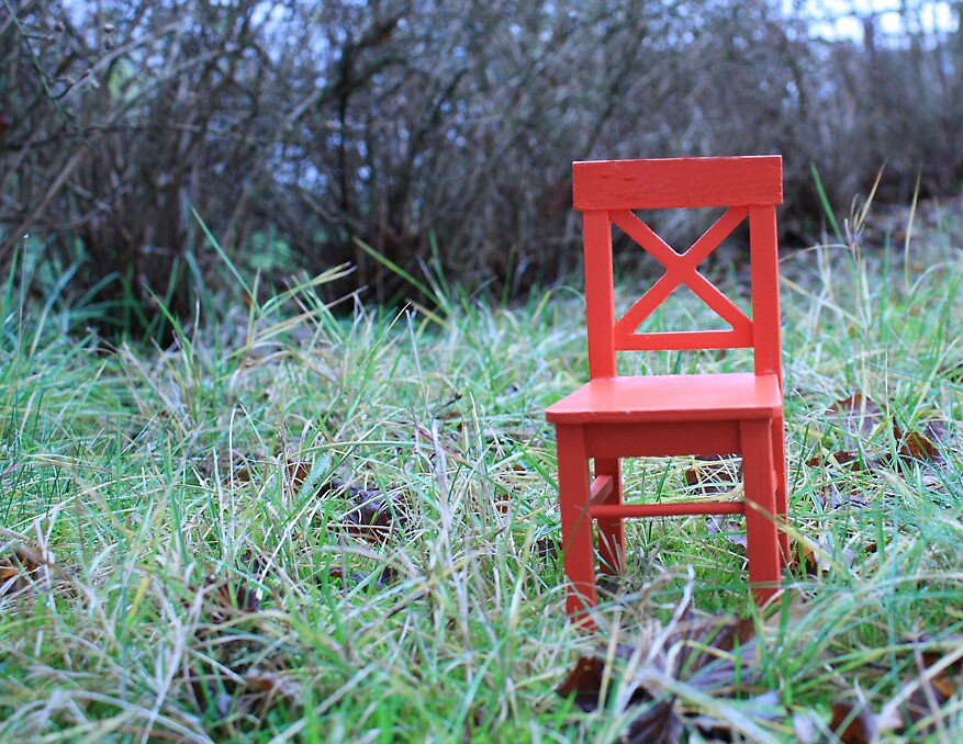 red chair by bluemoves