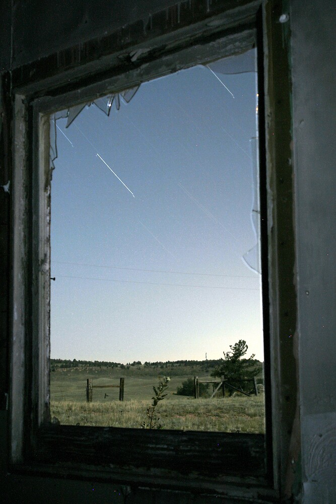 Outside stars fall by Rase Littlefield