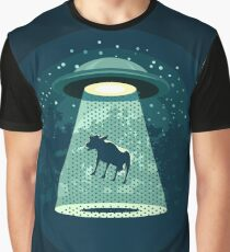 Beware UFO Graphic T-Shirt