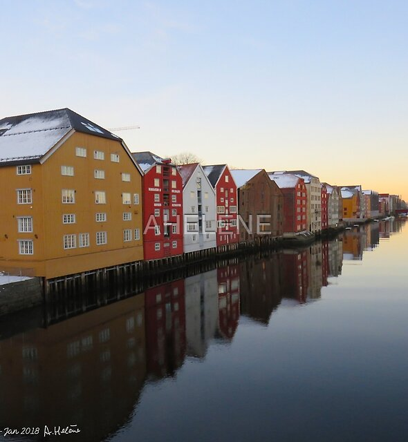 Trondheim Norway 2 of 3 by AHELENE